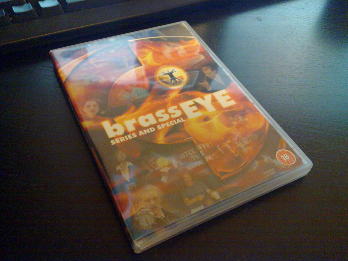 Brass Eye DVD case